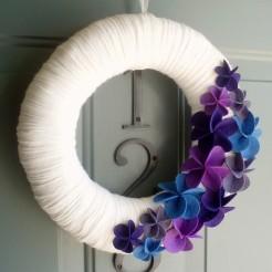♡ DIY Yarn Wreaths & Flowers ♡