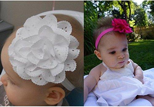 niceeshop(TM) Baby Girls Chiffon Elastic Headband Flower Hair Accessories