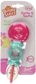 Bright Starts Rattle and Teethe, Pretty in Pink