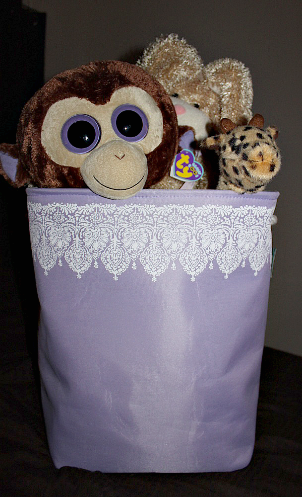 Got this awesome clothes hamper from Home Goods for $16.99